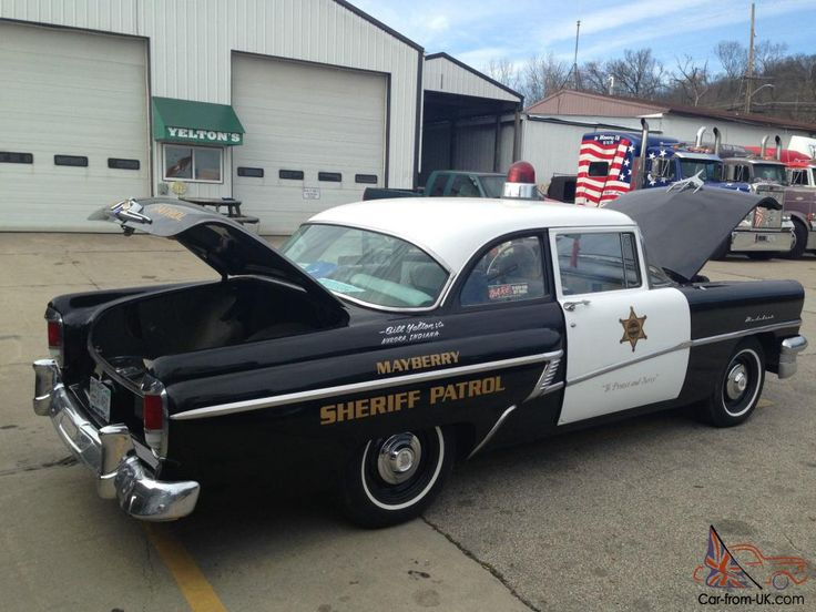 1956 mercury's | 1956 Mercury Madalist Cop Car for sale
