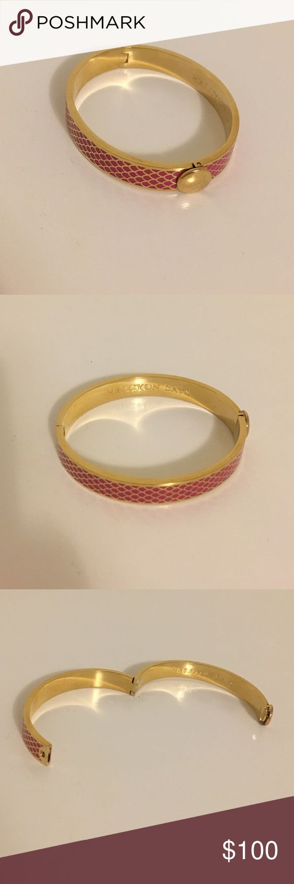 Halcyon Days pink and gold bracelet Halcyon Days pink and gold bracelet, never worn Halcyon Days Jewelry Bracelets