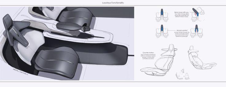 Lincoln Autonomous: Activity Specific Interior on Behance