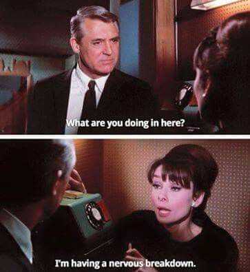 Charade, Cary Grant and Audrey Hepburn