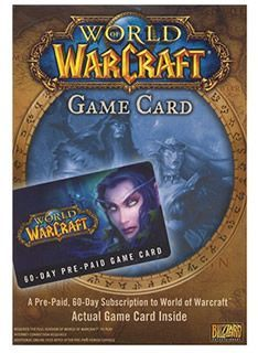 Battle.Net-Blizzard World of Warcraft 60 Day Time Card Provides 60 days of play time for World of Warcraft.Required World of Warcraft game to play. http://www.MightGet.com/february-2017-1/battle-net-blizzard-world-of-warcraft-60-day-time-card.asp