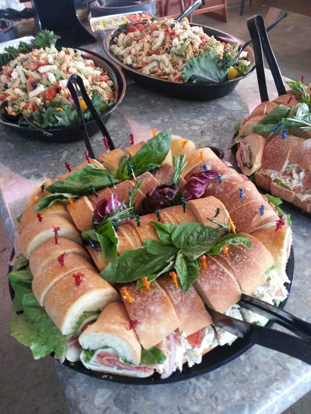 Sandwich platters are perfect for office parties, family gatherings or any event.