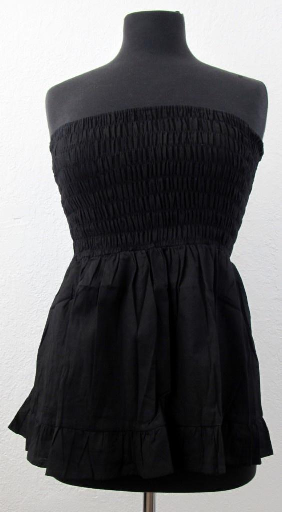 Silly Yeti Tube Top Strapless Shirt Mini Skirt Cotton Clothing Summer Wear