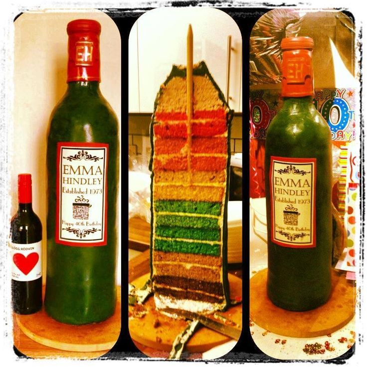 Decorated Alcohol Bottles For Birthday: Best 25+ Wine Bottle Cake Ideas On Pinterest