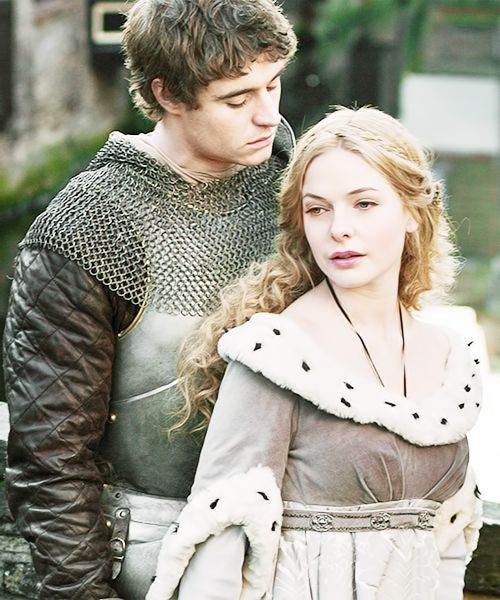 Antione and Beatrice- brother and sister trying to escape the wyrn knights who are trying to kill her. His loyalty to her as his sister and his queen is the driving element in their relationship.