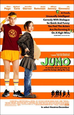 Juno (2007)- I never realize how much I like being home unless I've been somewhere really different for a while.