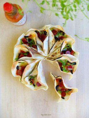 【トースターで簡単】豪華!「餃子の皮ちぎりピザ」でパーティが盛り上がる♪
