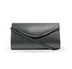 Glitteria clutch bag #clutchbag #taspesta #handbag #fauxleather #kulit #glitter #messengerbag #envelope #amplop #fashionable #simple #elegant #stylish #party #darksilver Kindly visit our website : www.zorrashop.com