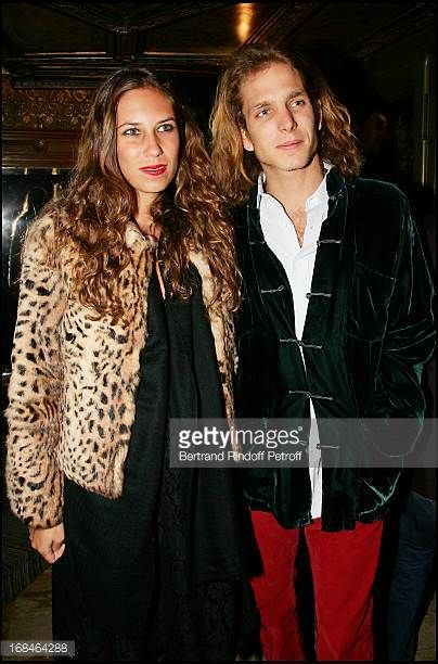 Tatiana Santo Domingo and Andrea Casiraghi at 'Miu Miu' Party In Restaurant 'Laperouse' After The Fashion Show Ready To Wear Fall Winter 20062007