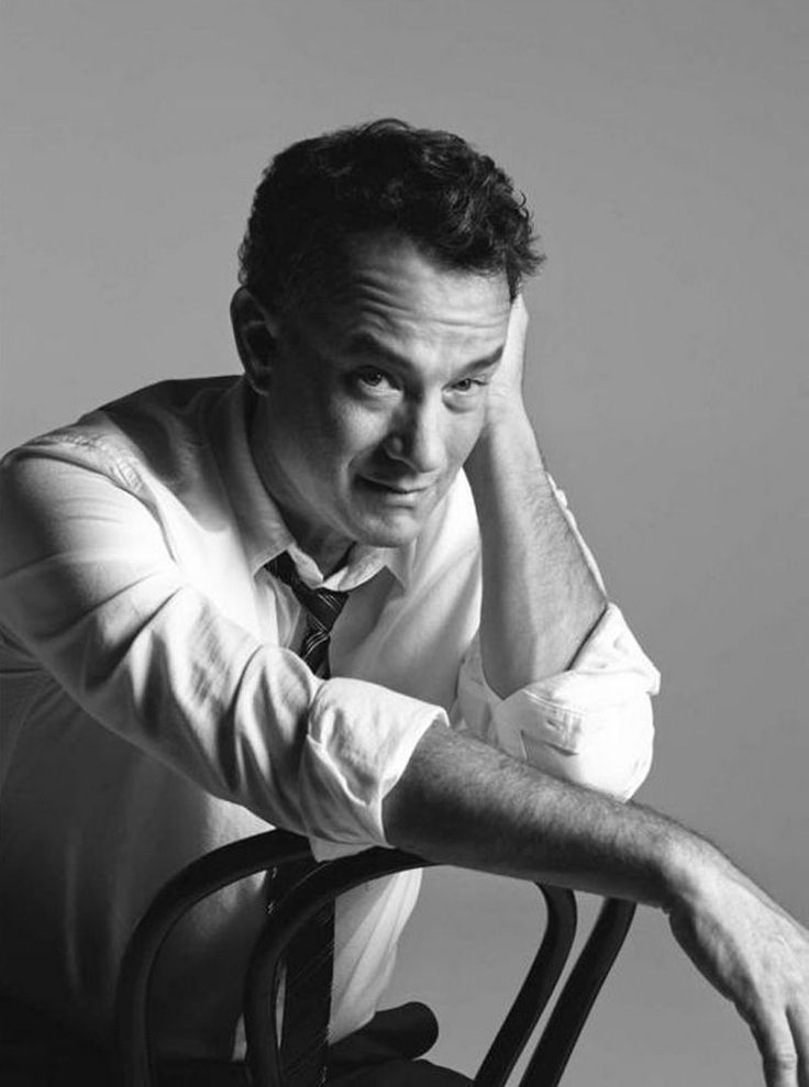 Tom Hanks, por Mark Abrahams  He's my ABSOLUTE MOST FAVORITE ACTOR EVER!!!