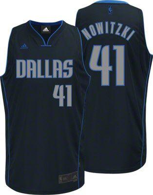 Dallas Mavericks Dirk Nowitzki 41 Grey Swingman Jersey Sale