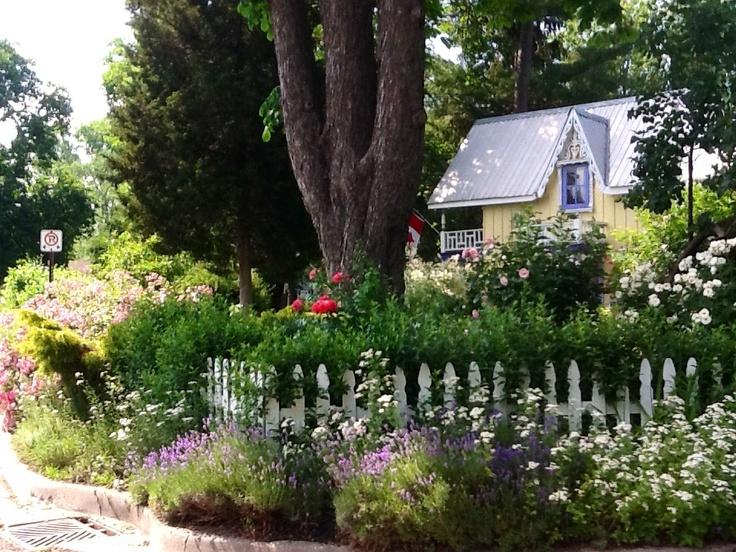 My Garden...Ford Cottage @ Historical Grimsby Beach, Grimsby, Ontario, Canada