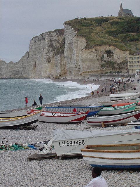 Etretat, France. I have lost my heart here. I return every year to search for it.