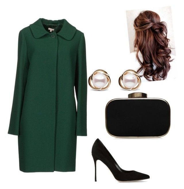 Untitled #28 by juliana-pereira-iii on Polyvore featuring polyvore fashion style P.A.R.O.S.H. Sergio Rossi Carvela Trilogy clothing