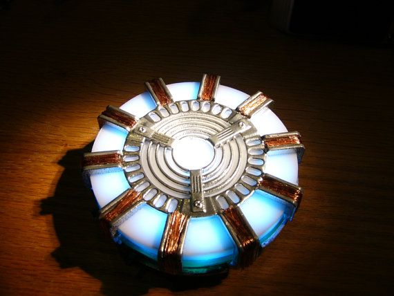 Functional Iron Man Arc Reactor Replica by SnAgCu on Etsy, $159.00