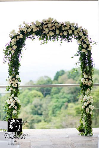 Divine floral arbour at Maleny Manor <3 www.celebratewithfiona.com