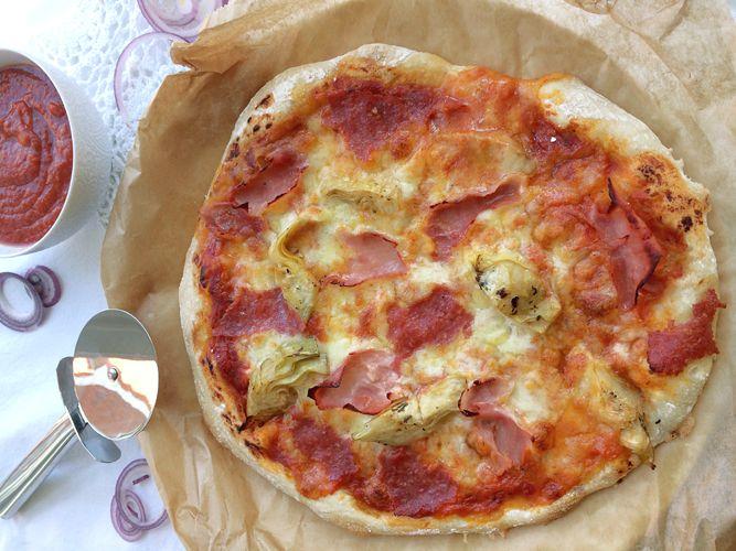 Dinkel-Pizzateig