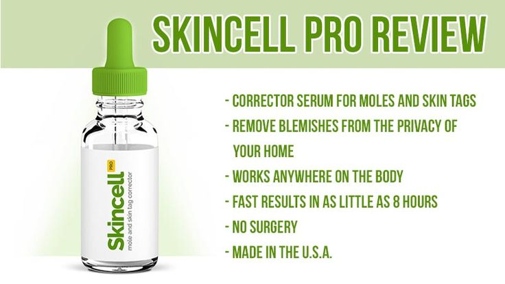 SkinCell Pro Review: Mole and Skin Tag Corrector Serum