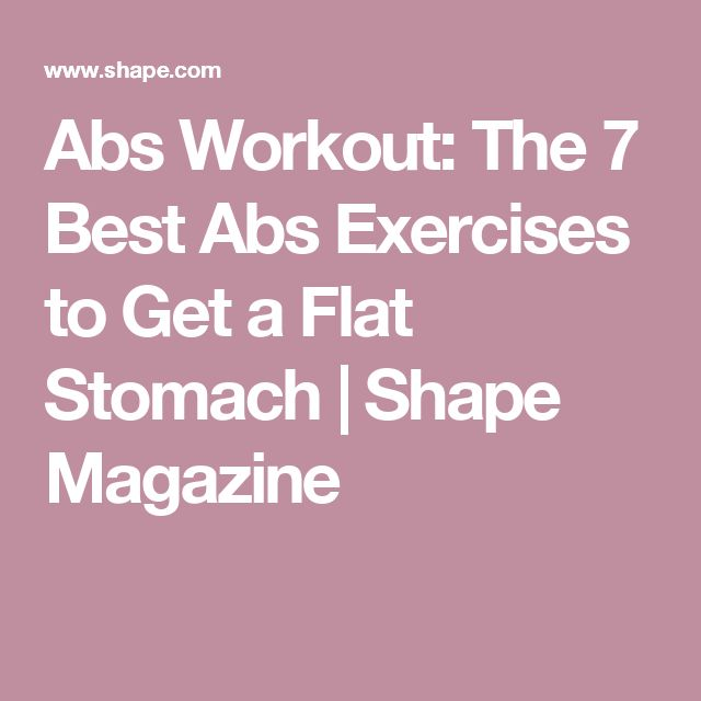10 Best Kettlebell Exercises For Strong And Sculpted Abs: 17 Best Ideas About Flat Stomach Challenge On Pinterest