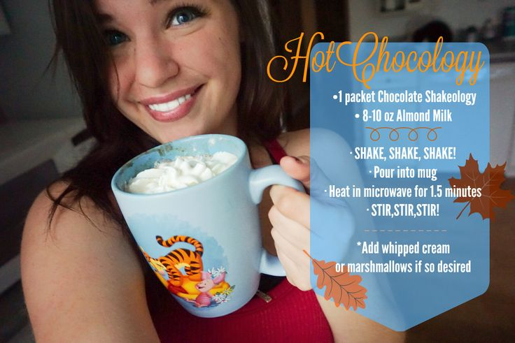 Hot Chocolate Shakeology Recipe