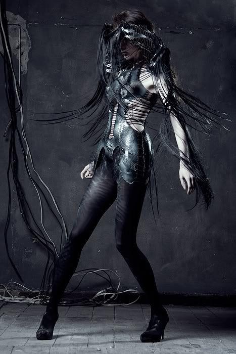 Otherworldly Costume Designs by Katarzyna Konieczka
