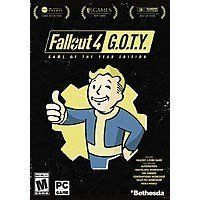 Fallout 4: Game of The Year Edition Pre-Order (PC Digital Download) $18.70