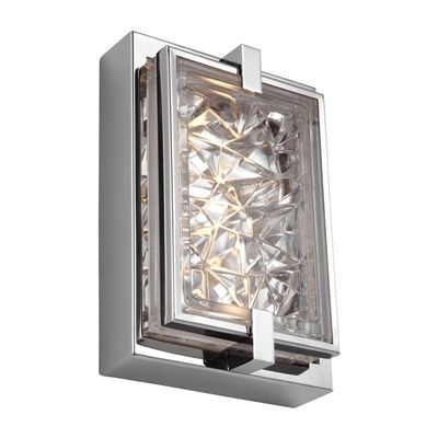 Feiss WB186 Erin LED Rectangular Indoor/Outdoor Wall Sconce