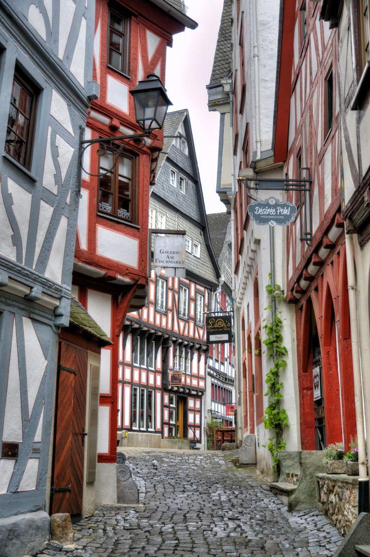 Fachwerk in Limburg.Germany
