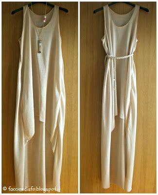 Faccio e Disfo: MAxi Dress DIY