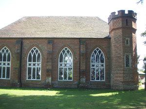 The Chapel of St Paul at Stansted House near Rowlands Castle