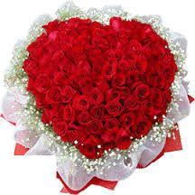 Surprise her with Red roses. Order them online.