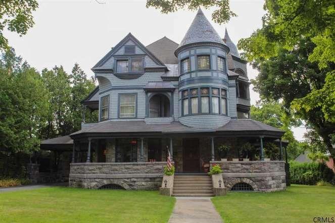 Victorian Home w/Stone wrap-around porch