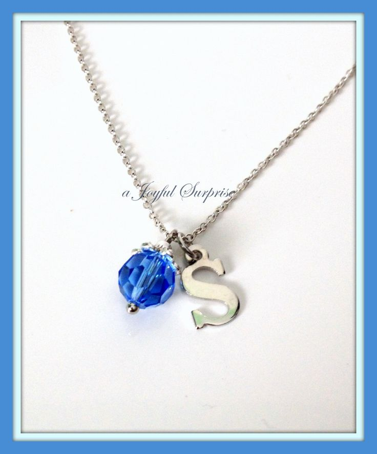 A personal favorite from my Etsy shop https://www.etsy.com/ca/listing/261245979/bridesmaids-necklace-initial-birthstone