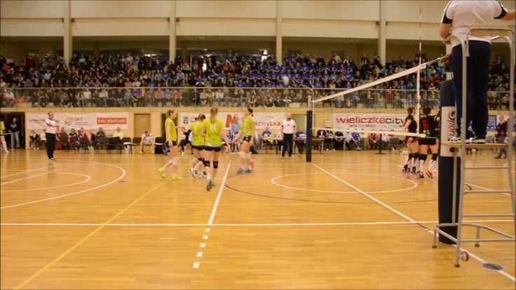 Volleyball 1L: WTS Solna Wieliczka - Wisła Warszawa. 2017-03-18