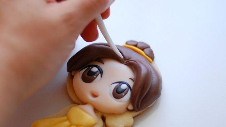 Cómo hacer a Bella en Galletas   Dulces Ilusiones