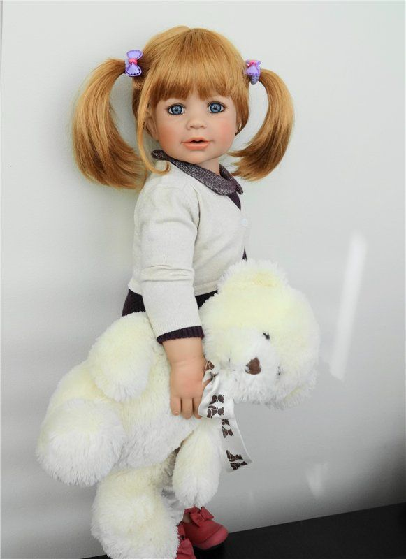 К нам приехала Аннет, Masterpiece Gallery / Monika Levenig и Monika Peter-Leicht. 2 Моники - Левениг и Питер-Ляйхт, из винила / Бэйбики. Куклы фото. Одежда для кукол
