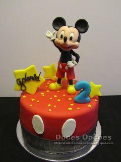 Doces Opções: O Mickey no 2º aniversário do Gabriel