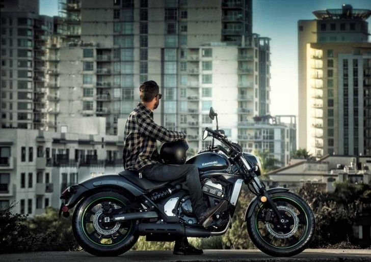 Kawasaki, 2015 Kawasaki Vulcan S ABS Cool Muffler Amazing Specification And Aerodynamic Design Powerful Engine Great Body With Black Paint Racing Wheels Strong Rear Arm Test Review ~ Best of Design and Review 2015 Kawasaki Vulcan S ABS