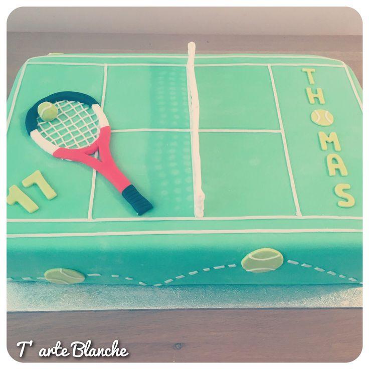 Tennis cake  Tennis taart