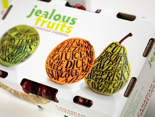 Packaging of the World: Creative Package Design Archive and Gallery: Jealous Fruits