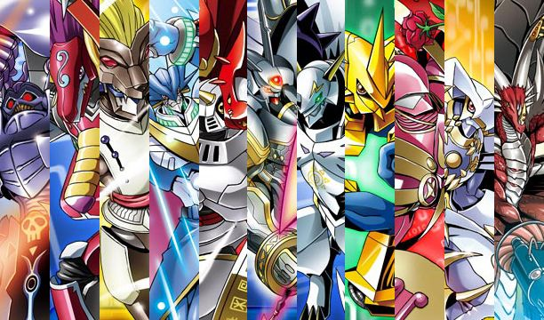 Digimon: Royal Knights vs Seven GreatDemon Lords w/ allies ...