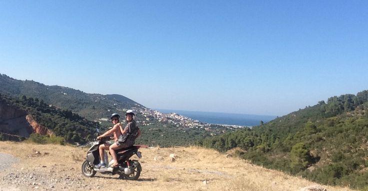 Adventure by bike in greeace