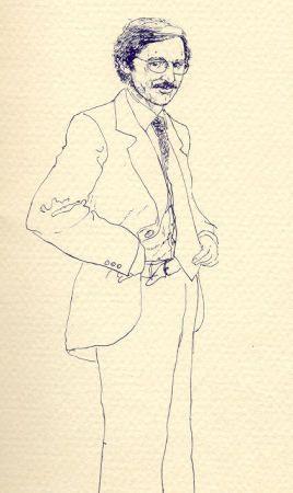 Juan Cardenas, pintor - Archivo Graficas Karin, Cali