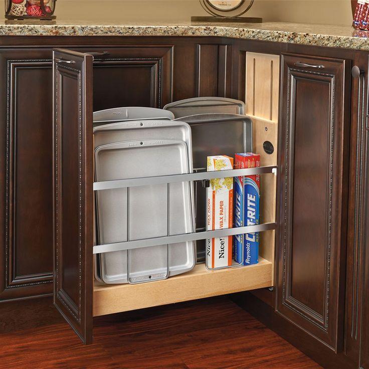 Rev-A-Shelf 447-BCSC Tray Divider/Foil & Wrap Organizer Soft-Close | Lowe's Canada