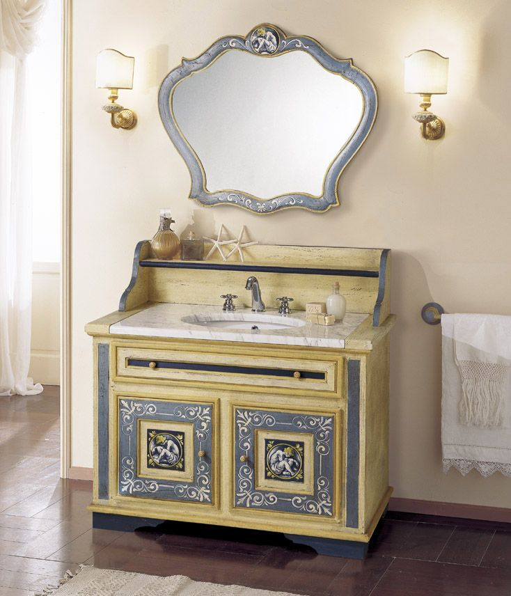 116 best Bathroom ~ Mobili di Castello images on Pinterest ...