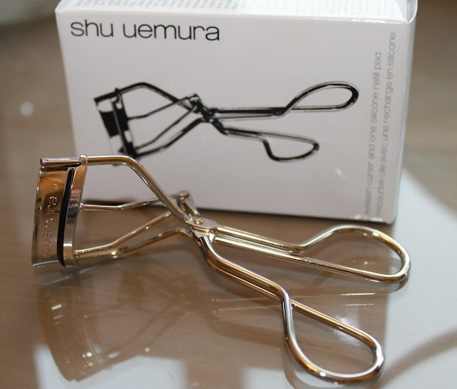 The handmade lash curler by Shu Uemura is worth every penny if you give a damn about your lashes