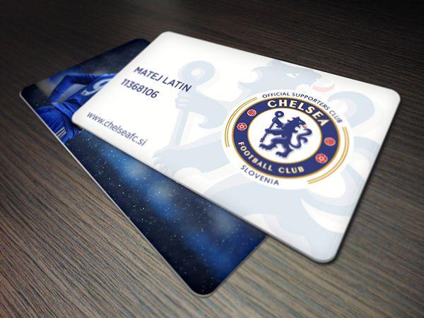 Chelsea Si Membership Card on Behance