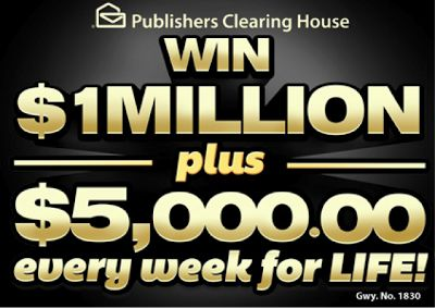 Million Plus $5000 Every Week For Life Mega Prize is Back! By Bare