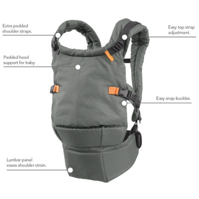 Infantino | Union- comparable to high end carriers for less than half the price! :)