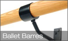 ballet barres from the ballet barre company